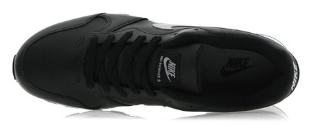 Buty - Nike MD Runner 2 Leather - czarne